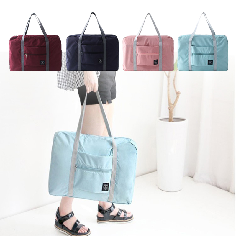 Travel-Bags Large-Capacity Luggage Folding Waterproof Fashion Women New for Oxford Unisex