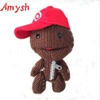 15CM Little Big Planet Plush Toy Sackboy Knitted Stuffed Doll Figure Toys Cute Kids Animal Comfort