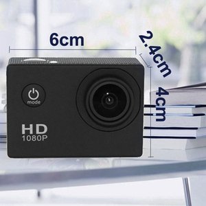 Image 4 - كاميرا رياضية كاميرا فيديو رقمي 2 بوصة كاملة HD 1080p 12MP 70 درجة زاوية واسعة كاميرا فيديو 30 متر كاميرا فيديو مضادة للماء سيارة