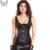 Roupas steampunk corset cintura instrutor armadura de couro corsets steampunk aço desossado espartilho de couro camisa de força trainer cintura
