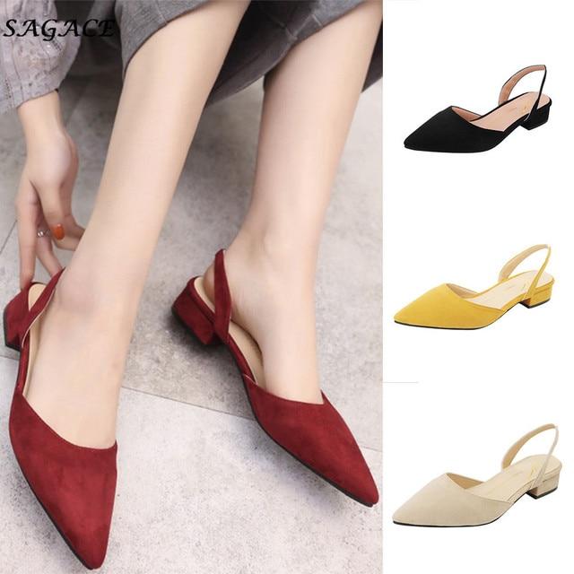 CAGACE/женские туфли-лодочки 2018 г. обувь на толстом каблуке с ремешком на щиколотке женские модельные туфли на среднем каблуке с квадратным носком удобная женская обувь для работы SIZE35-39