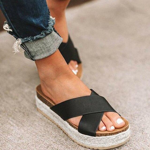 Open Toe high platform Sandals for summer 8