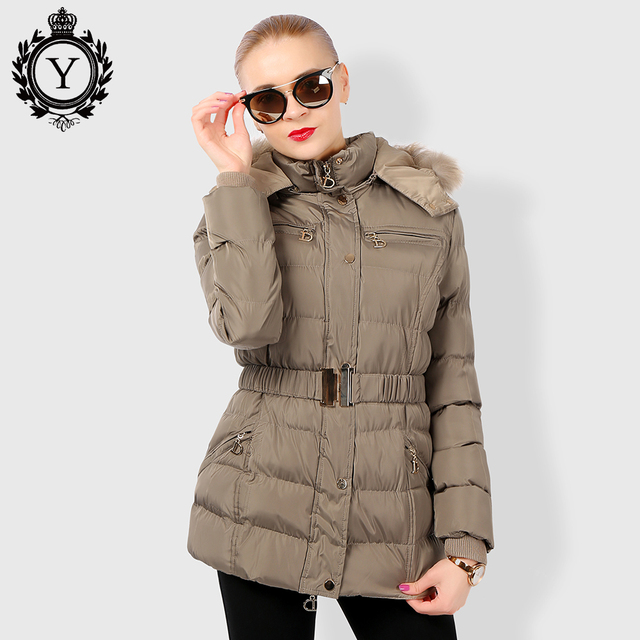 ac754ca42581e COUTUDI Ukraine Winter Jacket for Women Medium Long Thick Warm Slim Winter  Coats Female Quality Winter Clothing With Fur Hooded