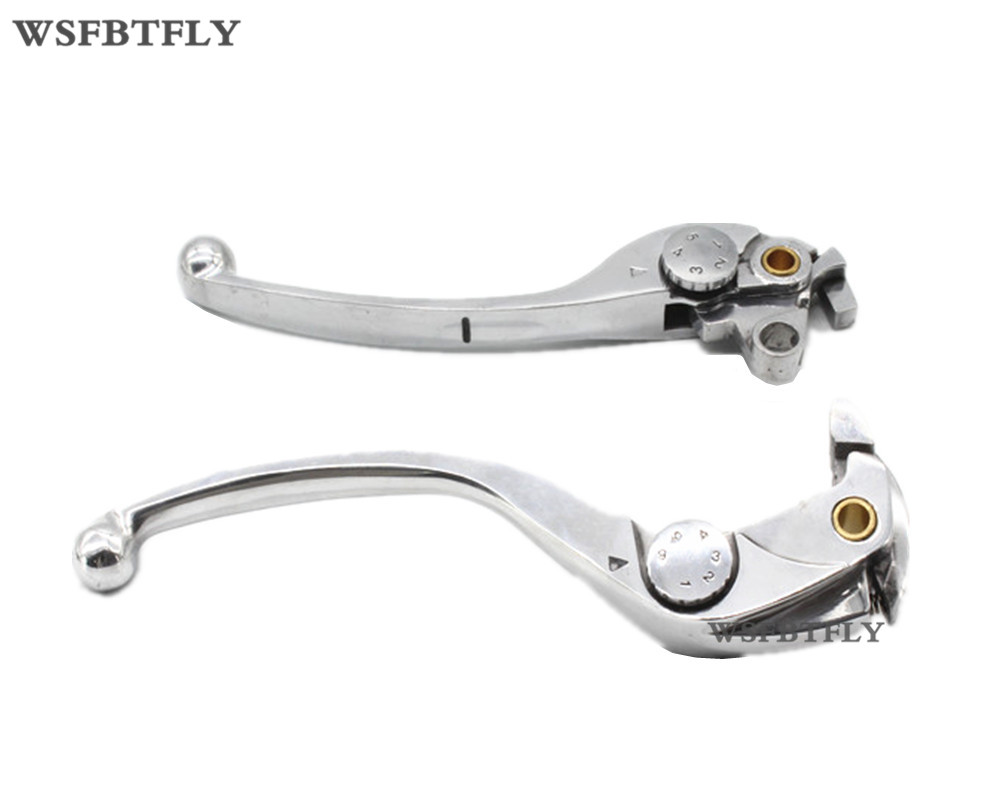 Motorcycle Aluminum Brake Clutch Levers For Honda CBR 1000RR CBR 1000 RR  2004 2005 2006 2007 aftermarket free shipping motorcycle parts brake clutch hand lever for honda cbr1000rr cbr 1000 2004 2005 2006 2007 carbon