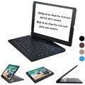 Per iPad pro 12.9 caso di tastiera 2017 e 2015 360 Gradi Girevole Tastiera Senza Fili di Bluetooth Auto Sleep/Wake up stand