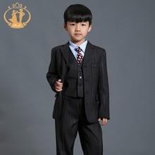Nimble Boys font b Suits b font For Weddings Tuxedos Vest font b Suits b font