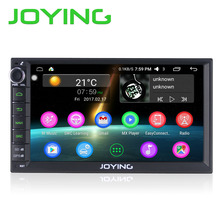 "JOYING Latest Android 6.0 2din 7"" Touch Screen Car radio Audio Stereo GPS HD steering wheel RDS Multimedia player Tape recorder"