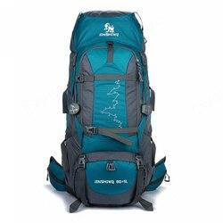 85L Grande Zaino Esterno Impermeabile Borse Da Viaggio Campeggio Trekking WomenClimbing Zaini Zaino Uomini sacchetto di Sport