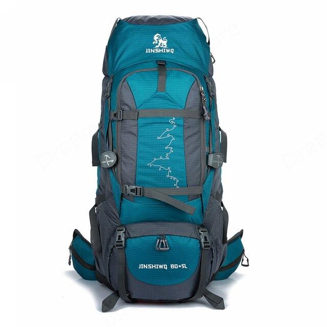 483b3b35fd3e 85L Large Outdoor Backpack Waterproof Travel Bags Camping Hiking  WomenClimbing Backpacks Rucksack Men Sport bag