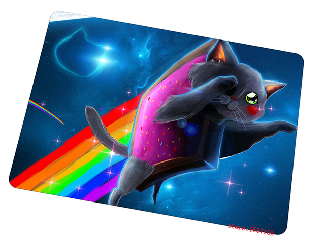 Nyan Cat Mouse Pad Personalized Gaming Mousepad Personalized Gamer