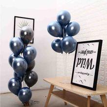 Double-layered metallic balloons 30pcs/lot 12inch 2.8g latex ballon congratulations baby shower decorations globos