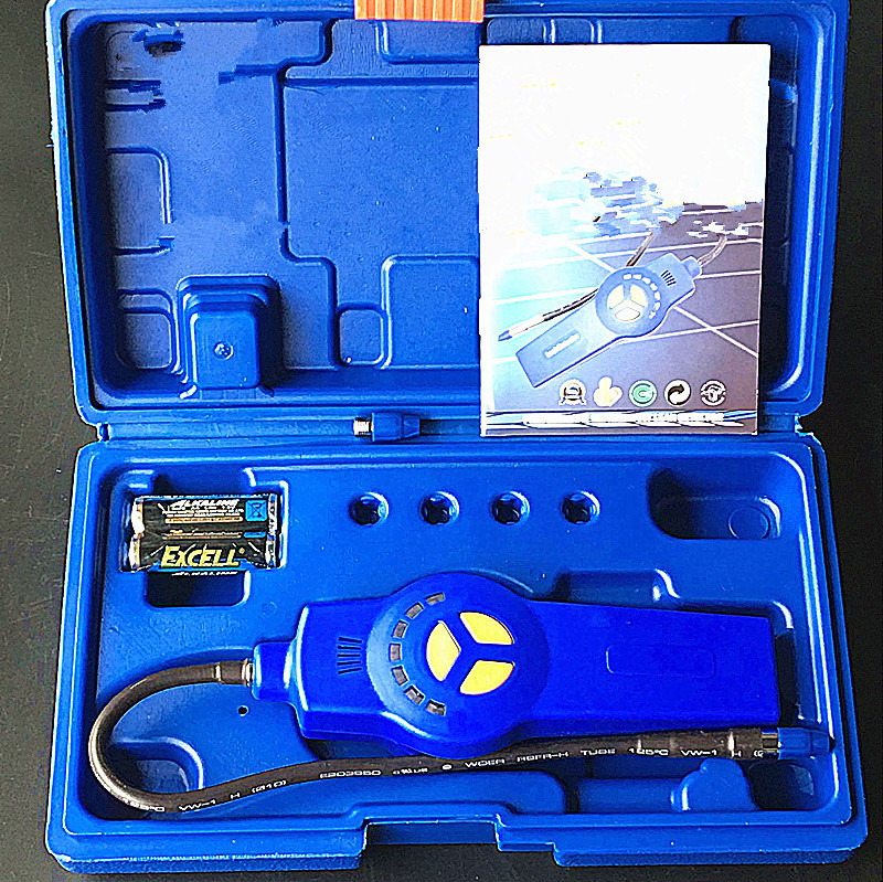 Halogen Gas Detector Alarm Freon CFC HFC HCFC Refrigerant Leakage Halogen Monitor Analyzer Tester Meter R134A HVAC DSA-200 Halogen Gas Detector Alarm Freon CFC HFC HCFC Refrigerant Leakage Halogen Monitor Analyzer Tester Meter R134A HVAC DSA-200