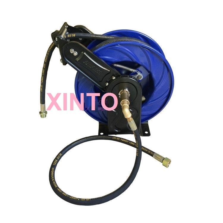 10-15M автомобильной высокое давление воды катушка для шланга, автоматическая выдвижная катушка - Цвет: X07A0031  12M