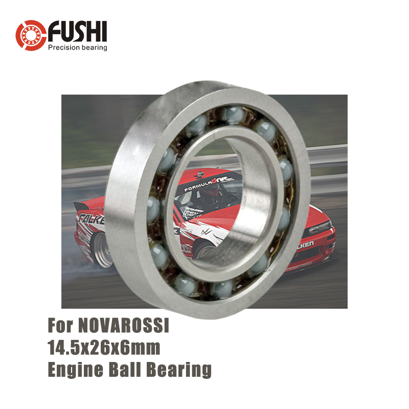 PX26145EC 14.5*26*6 mm Engine Ceramic Ball Bearing 1PC ABEC-3 C3 Clearance T46 Bearings For NOVAROSSI BONITO 21-7XLBS 16002