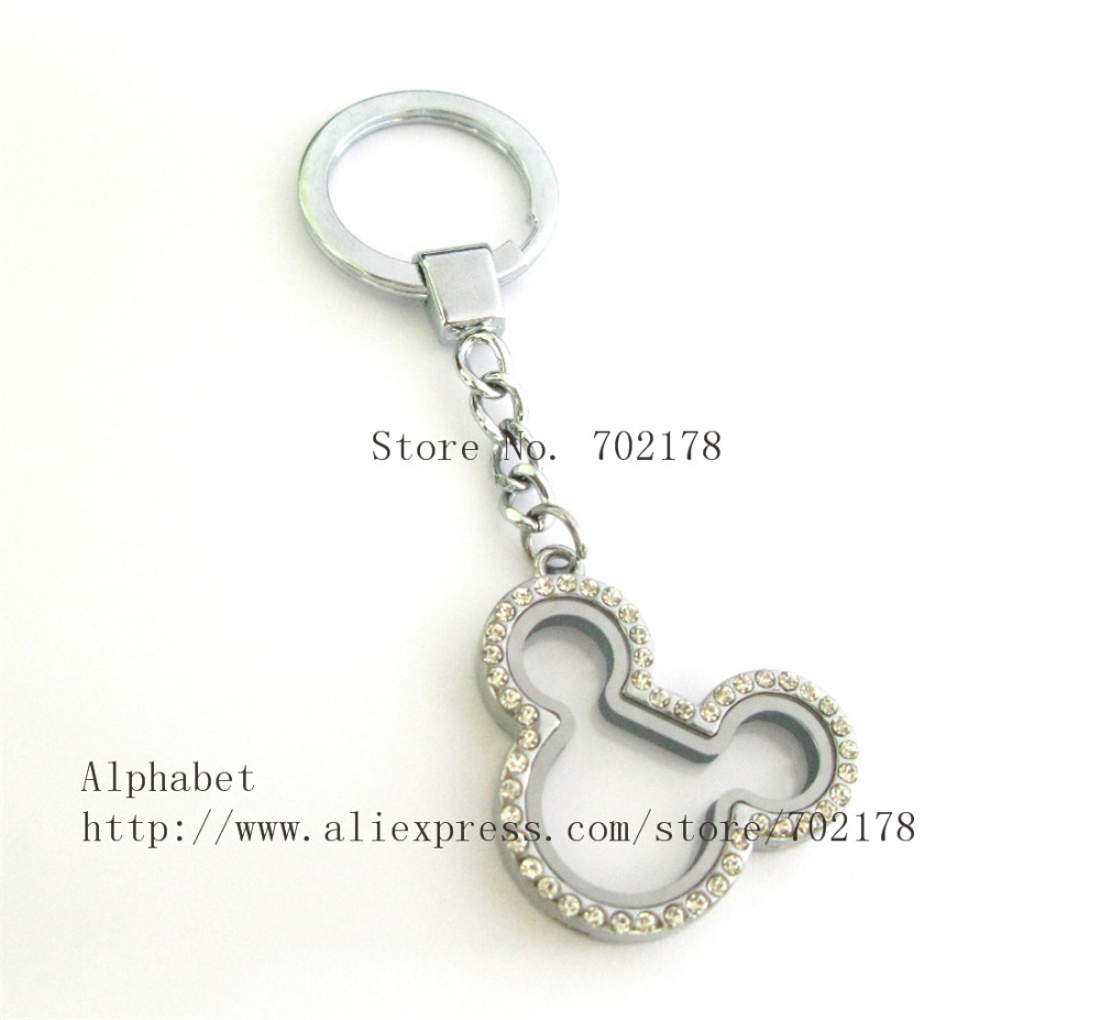 lockets locket and oval lg keychain wid mirror product photo