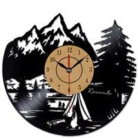 Fashion Creative   Clock   CD Vinyl Record Wall Clock3D Hanging Watches Home Decoracion