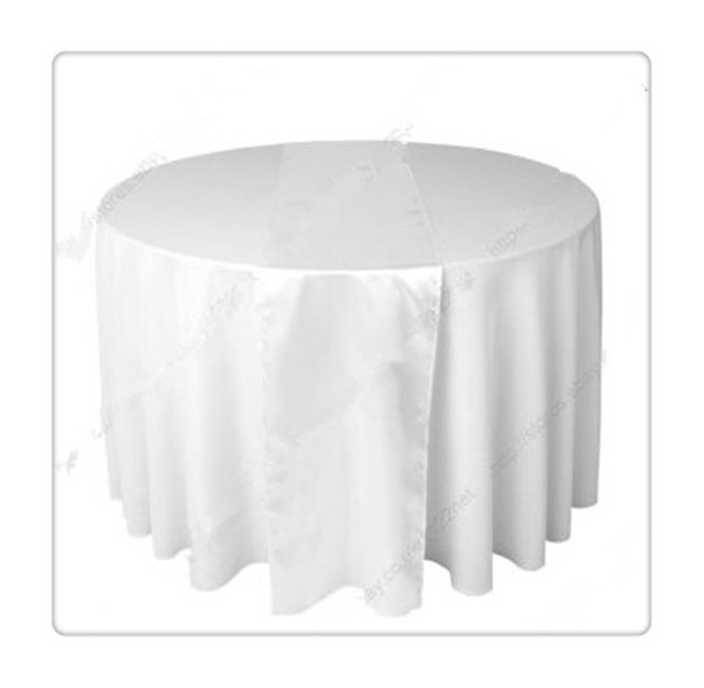 36 stück weißen tischläufer für die hochzeit kostenloser versand ...