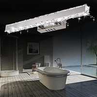 Simple Modern Crystal Wall Sconce Bathroom Wall Lamp LED Mirror Light Fixtures For Home Indoor Lighting Lampe Murale Anardela