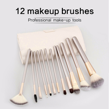 O.TWO.O 12 pcs Makeup Brushes Professional Synthetic Cosmetic Makeup Brush Foundation Eyeshadow Eyeliner Brushing Brush Kits