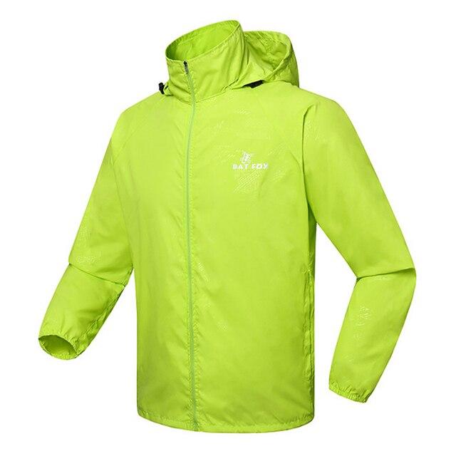 Raincoat Hooded Poncho Sport Jacket Windproof Waterproof Windbreak Cycling  Jersey Bicycle Cycling Raincoat Bike Rain Clothing 2aaf0c3300