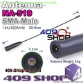 5-806-004 Dual Band 144/430MHZ SMA-Male Antenna for UV-3R KG-UV6D TH-UVF9 PX-2R LT-6600 PX-A6 TH-2R NF-669