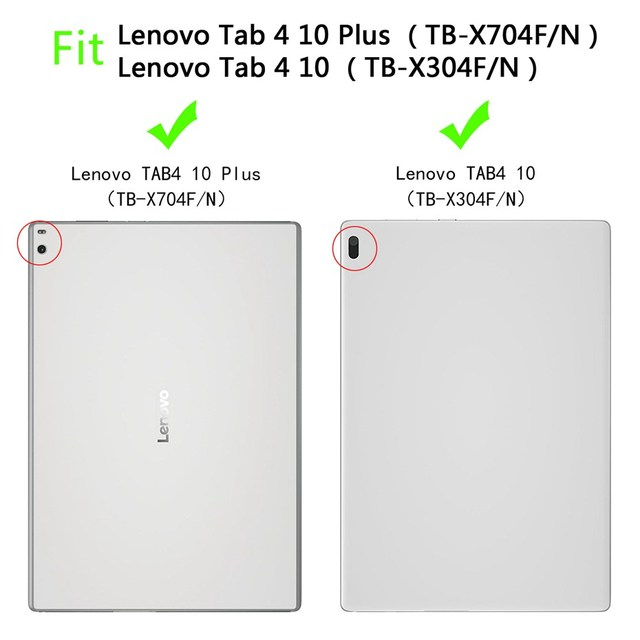 For Lenovo tab 4 10 / 10 PLUS case hand-held full body Children kids EVA Handle stand tablet cover for TB-X304F/N  TB-X704F/N 1
