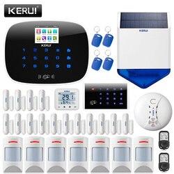KERUI W193 Drahtlose 3G APP Fernbedienung Touchscreen Alarma Casa WIFI PSTN GSM Smart Home Einbrecher Sicherheit Alarm system Sets