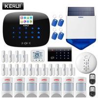 KERUI W193 Wireless 3G APP Remote Control Touch Screen Alarma Casa WIFI PSTN GSM Smart Home Burglar Security Alarm System Sets