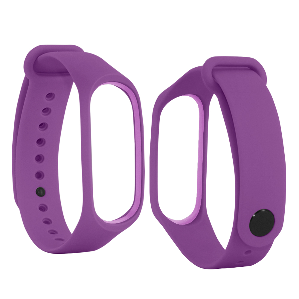 for Xiaomi Mi Band 3 4 Strap Silicone Bracelet For Mi Band 3 4 Wrist Strap Wristband Replace Miband 4 Silicone Strap mi band 4 in Smart Accessories from Consumer Electronics