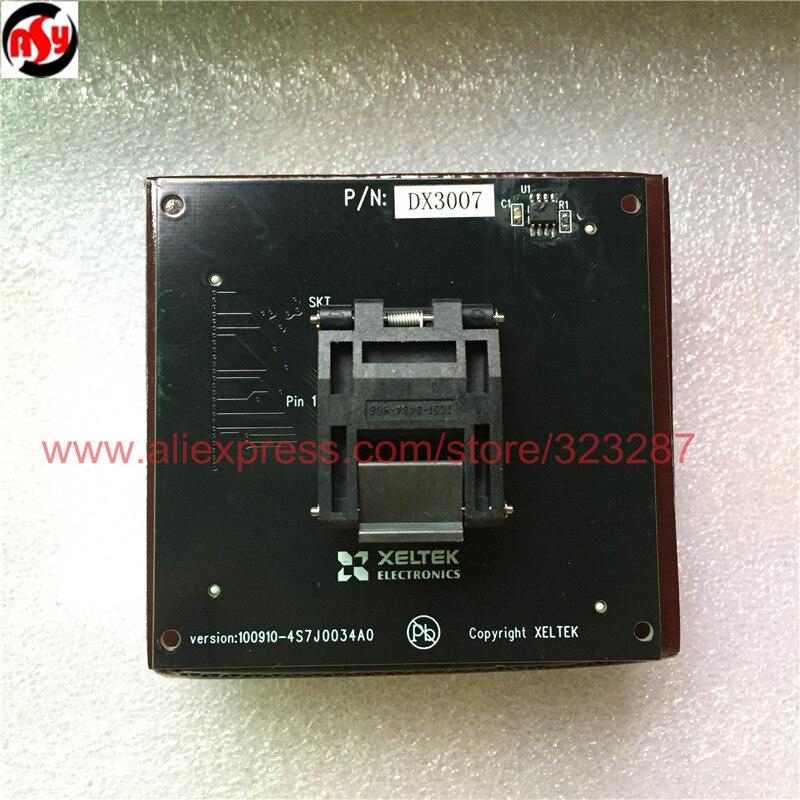 Emballage neuf et ORIGINAL DX3007 IC adaptateur de prise de Test fonctionnant pour le programmeur de la série SUPERPRO