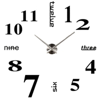 Handmade DIY Wall Clock Wall Clock Wall Sticker You Can Set Your Watch Freely On The