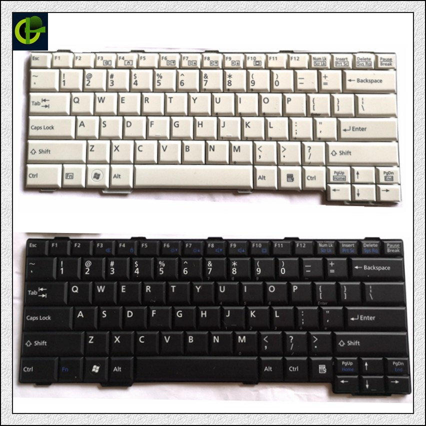 Original English Keyboard For Fujitsu Lifebook  E751 E741 E752 E781 S782 S781 S751 S792 AH701 S752 US