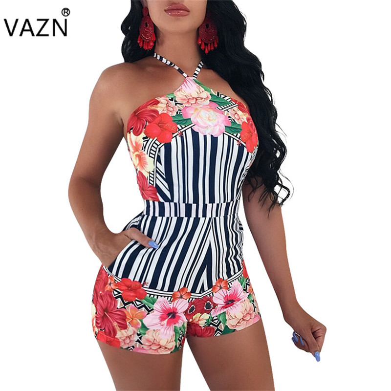 Women's Clothing Vazn Top Quality Novelty Design 2019 Women Print Spaghetti Strap Dress Lady O-neck Sleeveless Backless Skinny Long Dress Me229 Buy One Get One Free