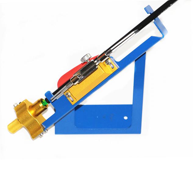 Arrow DIY Make Archery Arrows Feather Stick Tool Adjustable Fletching Jig Stick Bonding Adhere Vane