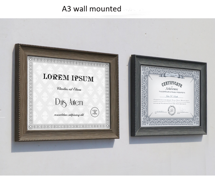 resin picture framing resin document frames certificate display standing wp027 in frame from home garden on aliexpresscom alibaba group - Document Frames