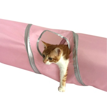 2017 New Design Long Folding Cat Tunnel Toys Nylon Steel Wire Cat Training Toys Hot Sales Cat Tunnel Toys Fashion Cat Training