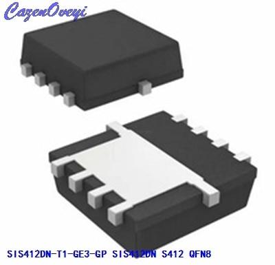 10pcs/lot SIS412DN-T1-GE3-GP SIS412DN S412 QFN-8 In Stock