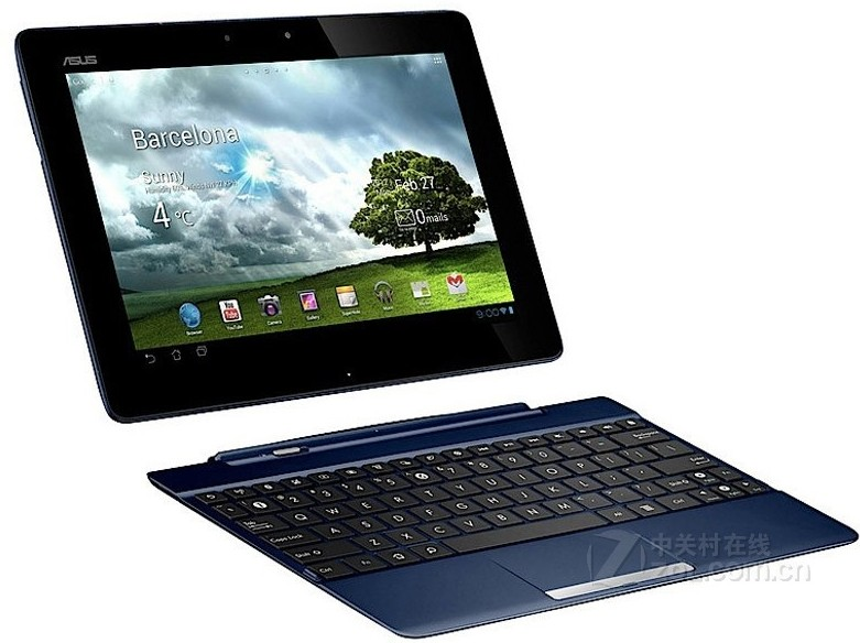 Фото Docking keyboard For Asus Transformer Pad TF300T TF300TC TF300TL 10.1
