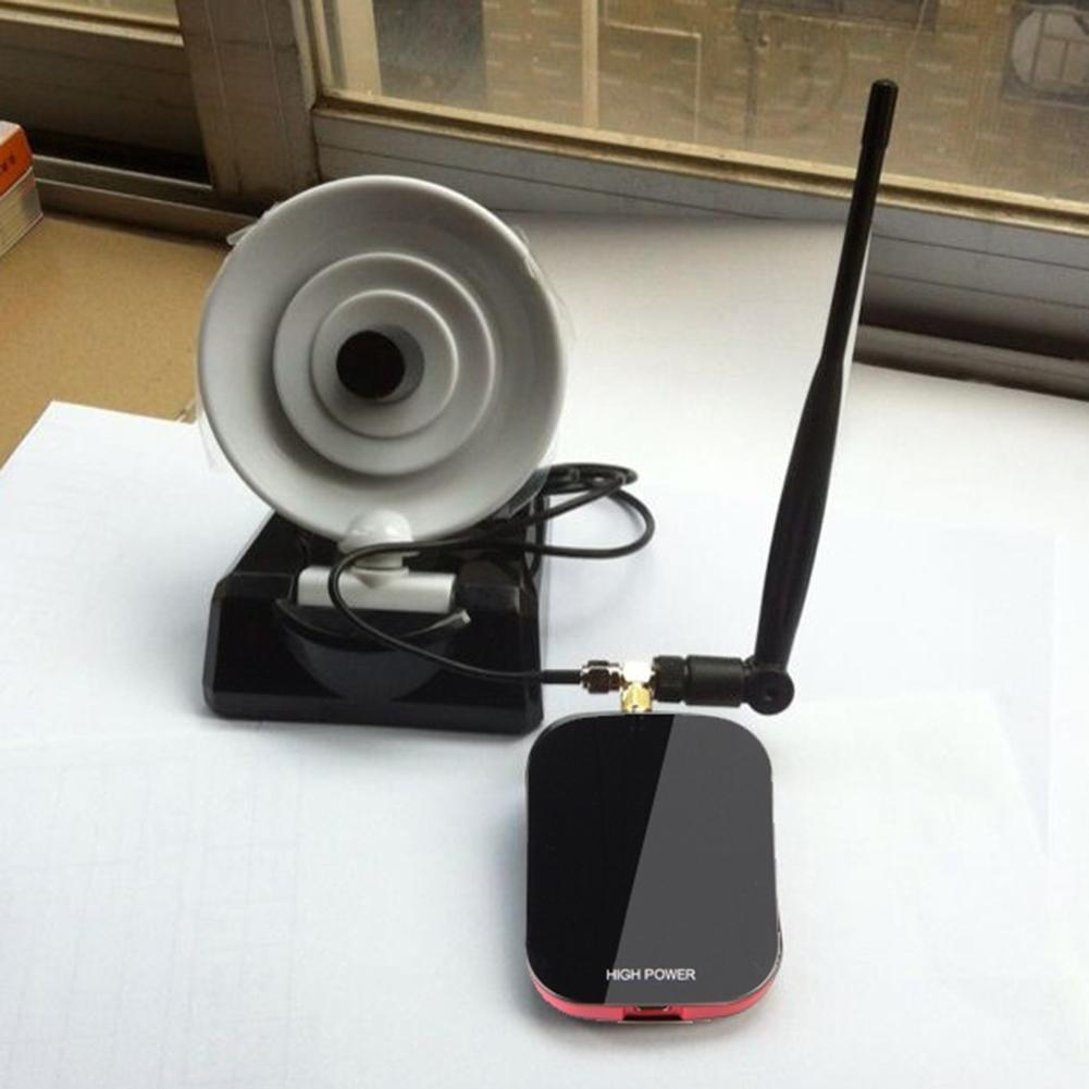 New Arrival 200m Long Range Password Cracking Dual Antenna USB WiFi Receiver Adapter Decoder(China)