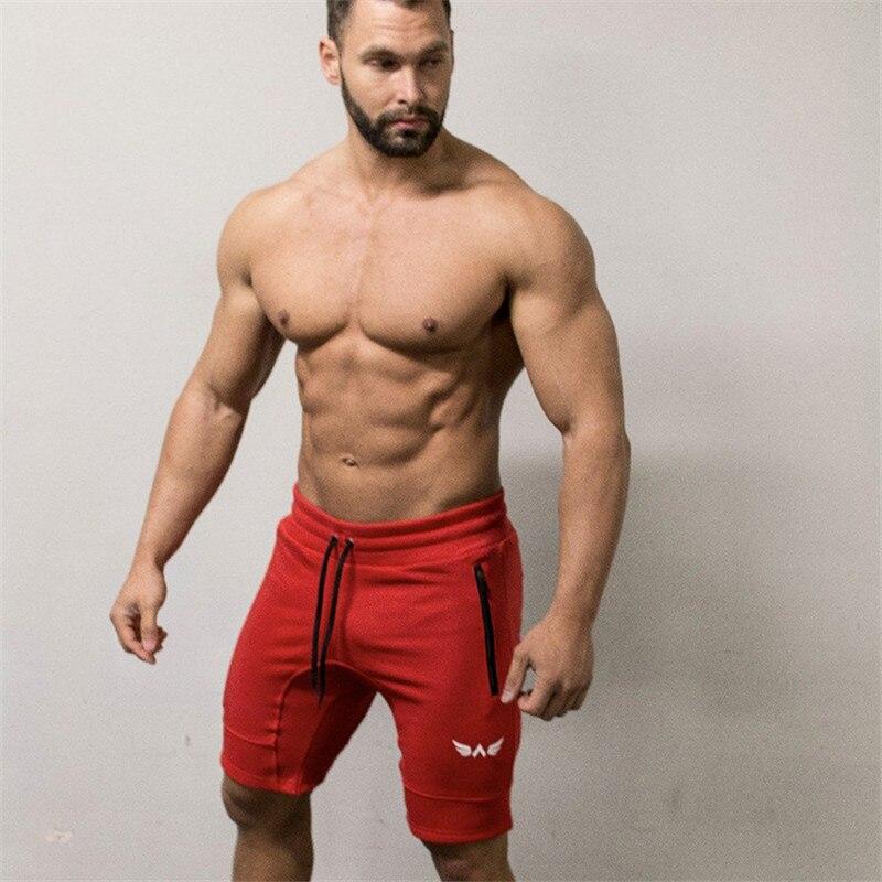 Men Shorts Fitness Bottom Short Pant-1