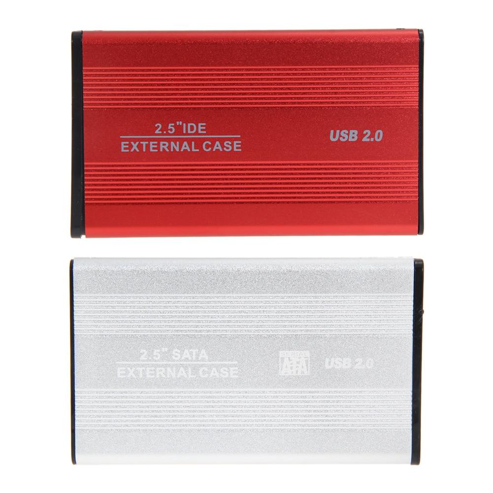 """USB 2.5 """"SATA חיצוני מארז HDD מארז 2.5 אינץ קשיח Driver Enlosure עבור מחשב נייד דיסק קשיח"""
