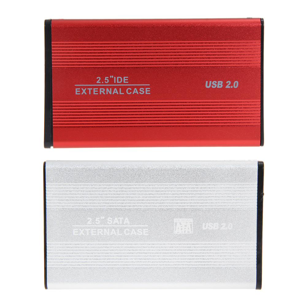 USB 2 0 2 5 inch SATA External Case HDD Enclosure 2 5 inch Hard Driver