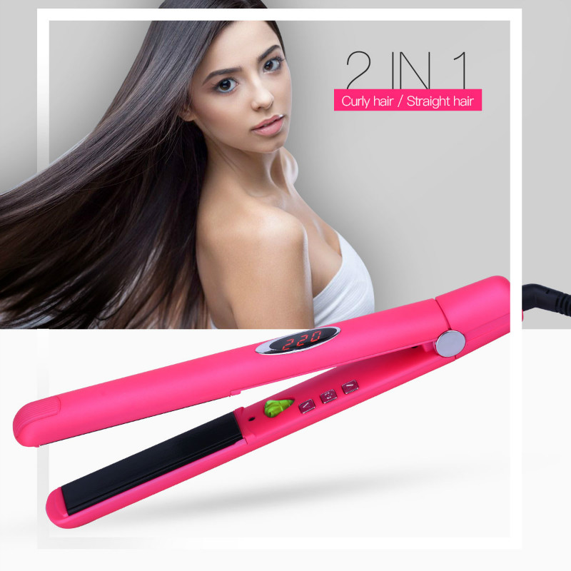 Infrared Anion Ceramic Hair Straightener MCH Heating Flat Iron Ionic Hair Straightening Lock Moisture&Oil 3D floating plate P49 пальто женское baon цвет черный b037548 black размер xl 50