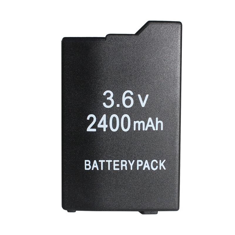 Accessoires de jeu pour PSP Batterie avec 2400 mAh Pour SONY Lite, PSP 2ème, PSP-2000, PSP-3000, PSP-3004, Silm Livraison Gratuite