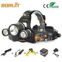 10000Lm CREE XML T6 2R5 LED Headlight Headlamp Head Lamp Light 4 Mode Torch 2x18650 Battery