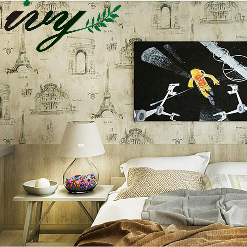 IVY MORDEN Vintage European Wallpaper Printing Non Woven Custom Wall Paper for Walls Wall Paper Rolls Home Decor Living Room