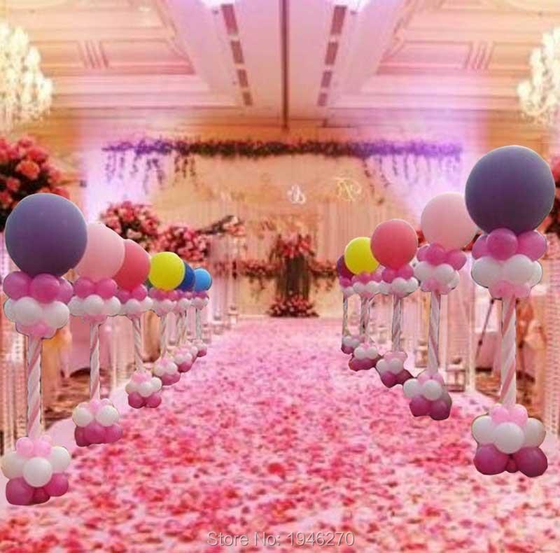 Wedding Decorations Balloon Column Pole Stick Anniversary Party