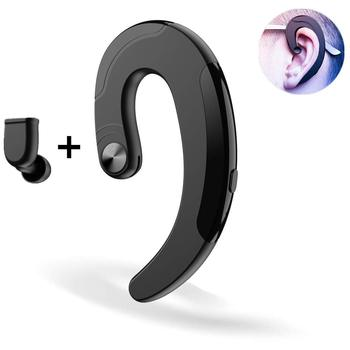 2018 Business Wireless Earphone Single TWS Bluetooth Earphone Headphone with Microphone for IOS Android Mobile Phone Laptop