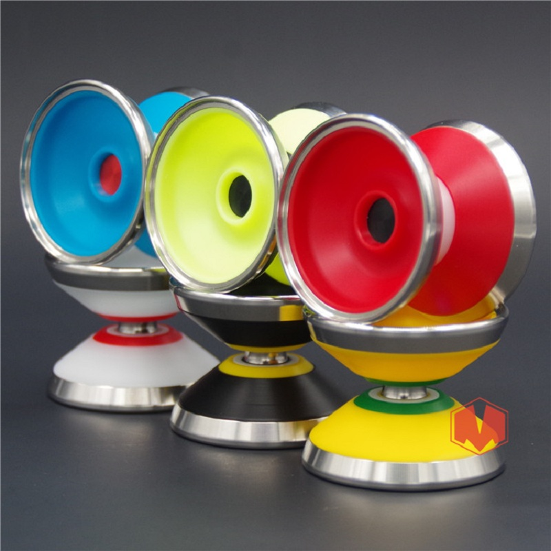New Arrive YOYO EMPIRE Tsunami yoyo CNC metal ring Yoyo for Professional yo-yo player Metal and POM Material Classic Toys new arrive yoyo empire big bang yoyo cnc yoyo for professional yo yo player professional advanced ball pom material