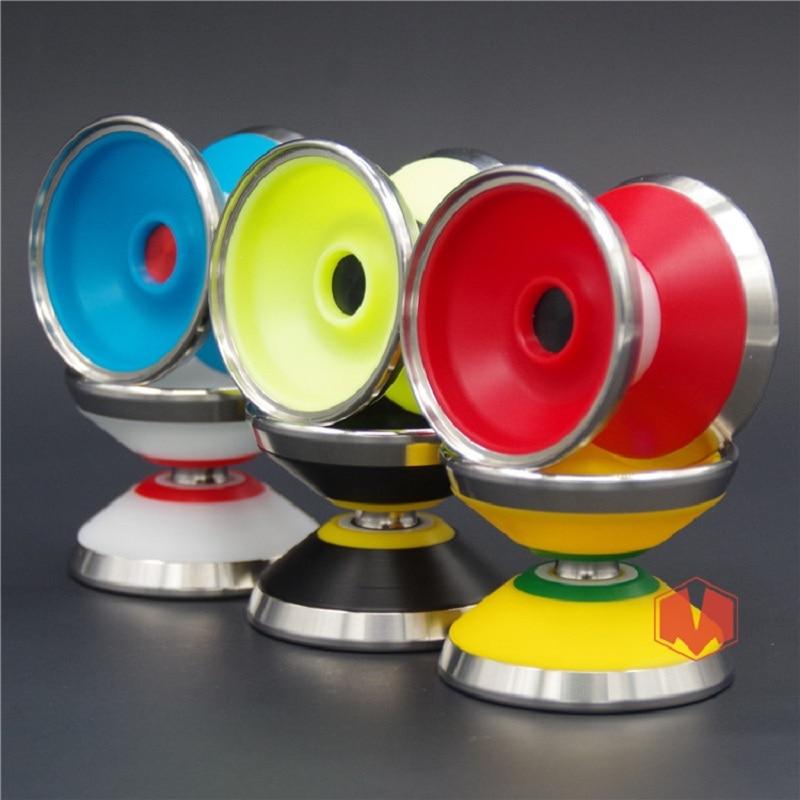 Nouvelle arrivée YOYO EMPIRE Tsunami yoyo CNC anneau en métal Yoyo pour professionnel yo-yo joueur métal et POM matériel classique jouets